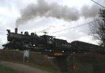 BR&W Santa train