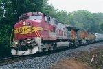 BNSF 633 on NS M72