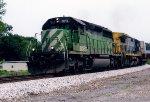 BNSF 7012 on CSX Q142