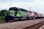 BNSF 6785 on NS 53W