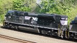 NS 1023 on WB NS 591 Empty Coal Train