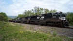 NS 927 Herzog Ballast Train EB at MP: PT 117
