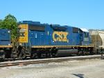 CSX 2657(GP38-2)