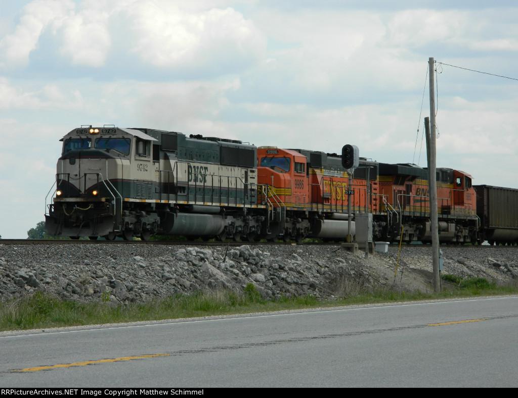 BNSF 9742