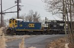 CSX SW1001 #1128 and NS GP40-2 #3030