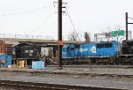 NS SD50 #5406 and NS SW1001 #2103