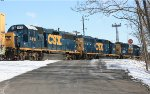 CSX GP38-2S #4418 on C964-23