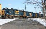 CSX GP38-2S #4418 on C964-23