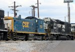 CSX SW1001 #1128 and NS GP38-2 #5290