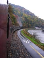 WMSR 502 and WMSR 501 - Western Maryland Scenic