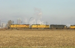 UP 9463 and 9438 with GECX 8631