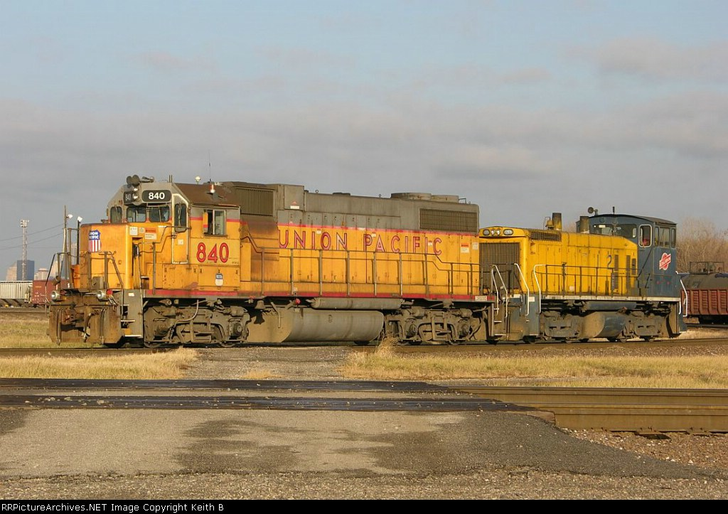 UP 840 and ALS 1512