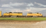 UP 9890 and 3105