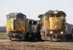 UP 9270 and 5167