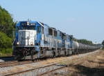 EMD Blue and White