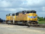 UP 2283 SD60M Switching at Taylor, TX