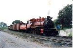 Steam train in Ecuador
