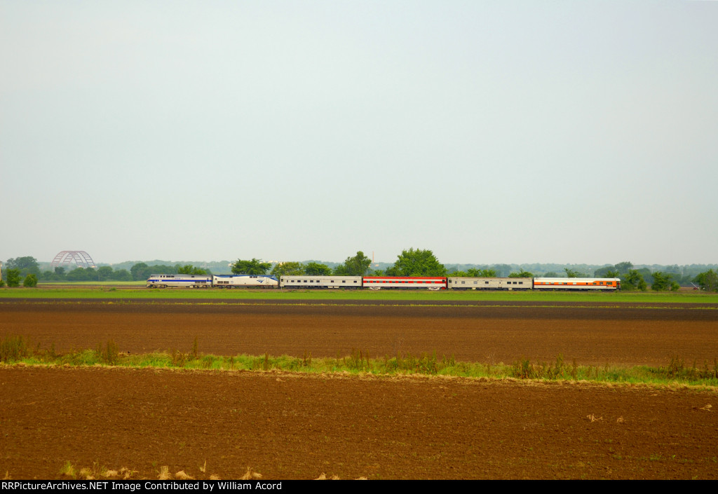 "High Iron Rail Excursions ""Southern Explorer"" South of Dupo, Illinois"