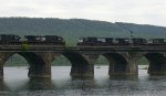 NS meet on the Rockville Bridge