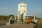 Sitting at LaFarge Cement