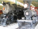 Steam Engines In Strasburg Railroad Museum