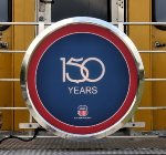 150th Anniversary Drumhead