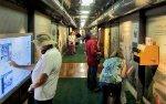 Inside UP #5779 Museum Car