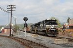 NS 632 coal train southbound at Lock Haven