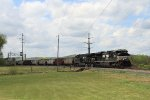 NS 632 southbound coal train at CP Linden