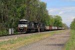NS 632 coal train at Montgomery