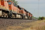 BNSF 4623 is last in line on a eb stack train q lacchi