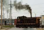 Honorary steam engine?  Alco repower?