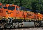 Wreck-rebuild, BNSF 4519