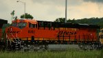Freshly-painted BNSF 6960