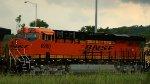 Freshly-painted BNSF 6960