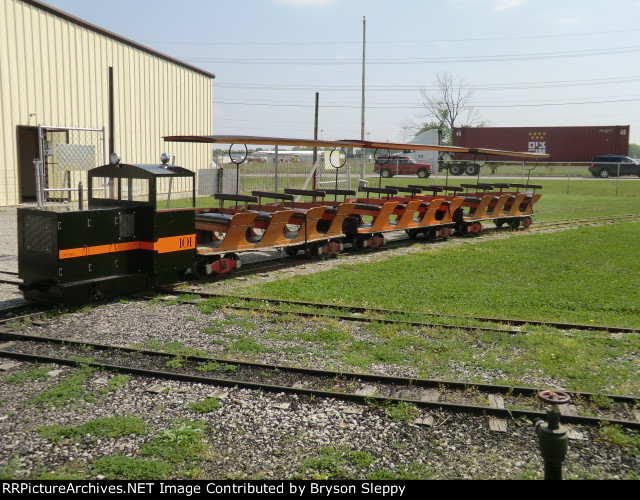 Engine 101 and Passenger Cars