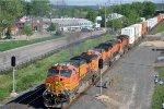 Z train rolls east