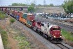 Intermodal races westbound