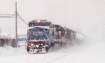NS 34A in the snow