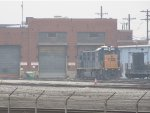 CSX 1311 sits outside the Barr Yard engine house