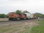 BNSF 5990 & 6137 race west with the Z-CHCPTL