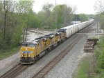 After making its way through Chicago, CSX takes the Salad Shooter east as Q090-15