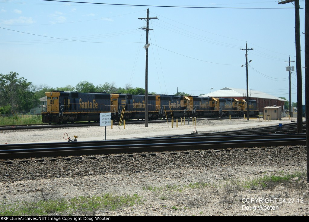 Stored BNSF Power