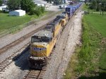 UP 4212 & UP 9392 West Bound Through Marceline, Mo.