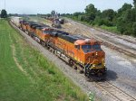 BNSF 7211 Through Marceline