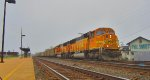 BNSF 9867 & 8955 on coke empties