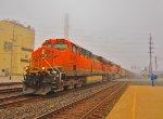 BNSF 6099 & 6388 on coke loads