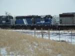 MRL 605 SD9 sitting out of service