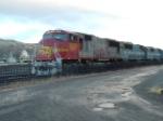 BNSF 8206 SD75M heading a coal drag