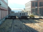 BNSF 3704 MP15 on the transfer table